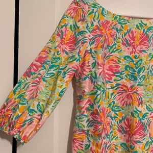 Lilly Pulitzer Dresses - Lilly Pulitzer Floral Dress